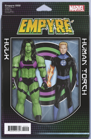 Empyre #2 (Christopher 2-Pack Action Figure Cover)