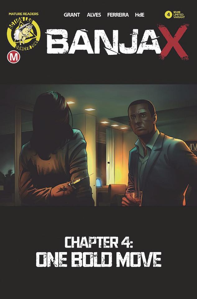 BanjaX #4 (Alves Cover)