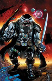 Black Sable #4 (Diaz Cover)