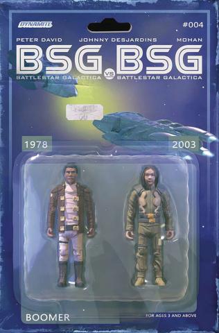 BSG vs. BSG #4 (Michael Adams Boomer Action Figure Cover)
