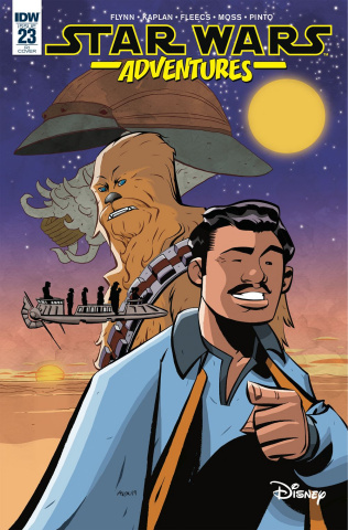 Star Wars Adventures #23 (10 Copy Oeming Cover)