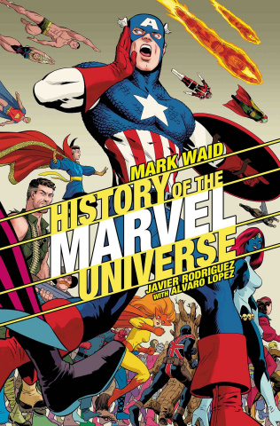 History of the Marvel Universe #2 (Rodriguez Cover)