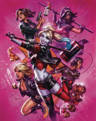 Harley Quinn and The Birds of Prey #3 (Ian MacDonald Cover)