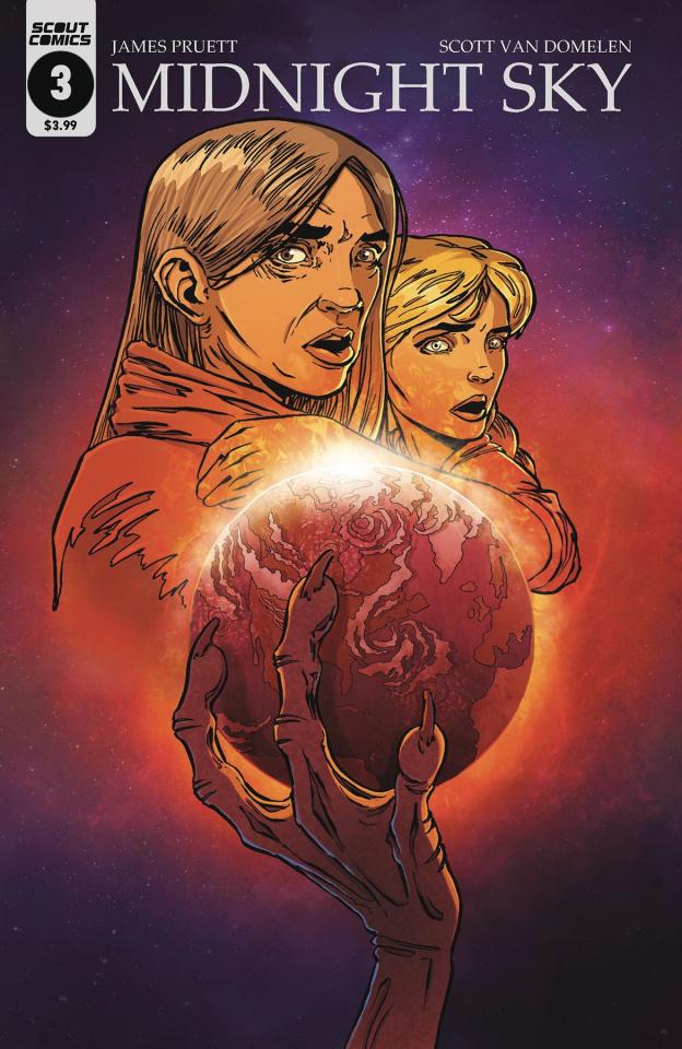 Midnight Sky #3 (Van Domelen War of the Worlds Cover)