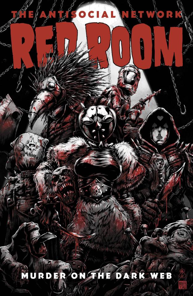 Red Room #3 (5 Copy Okazaki Cover)