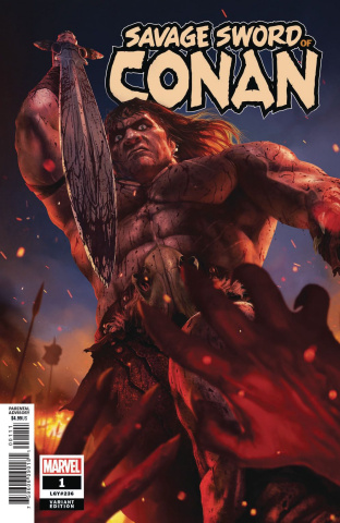 The Savage Sword of Conan #1 (Rahzzah Cover)