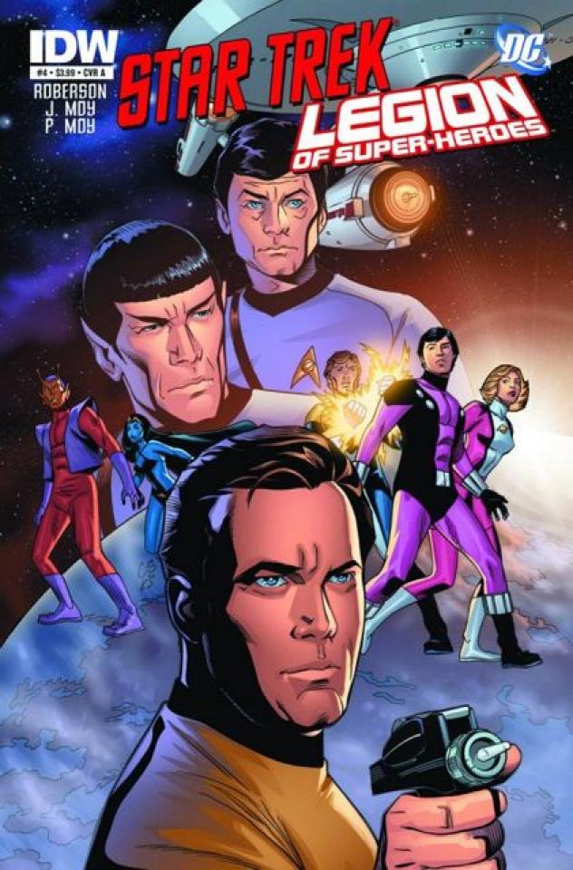 Star Trek / The Legion of Super Heroes #4