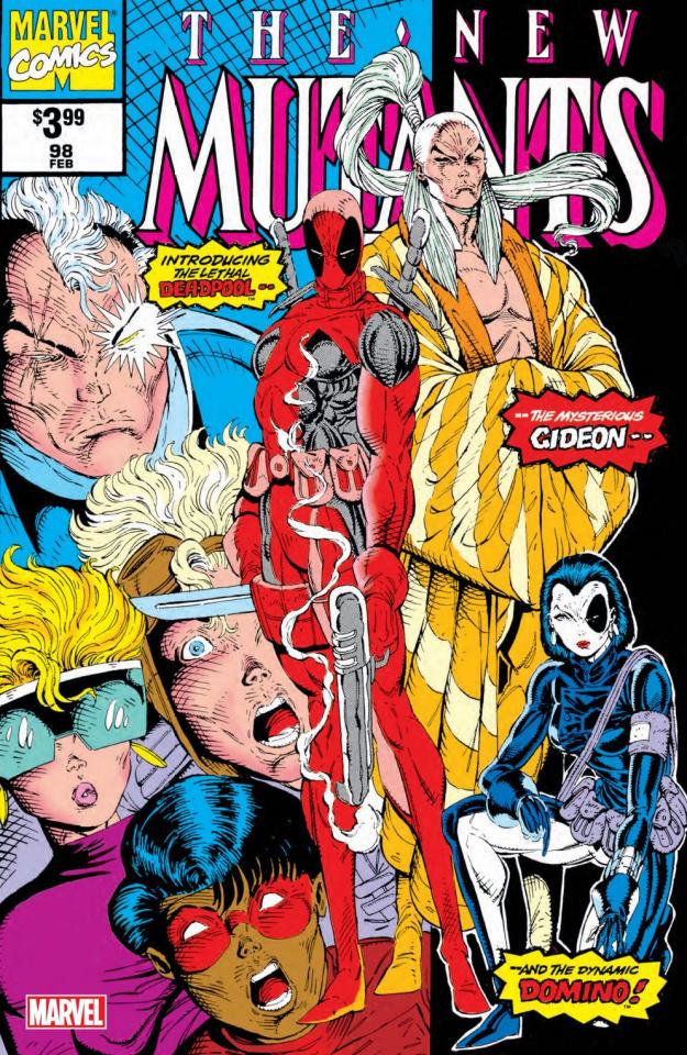 New Mutants #98 (Facsimile Edition)