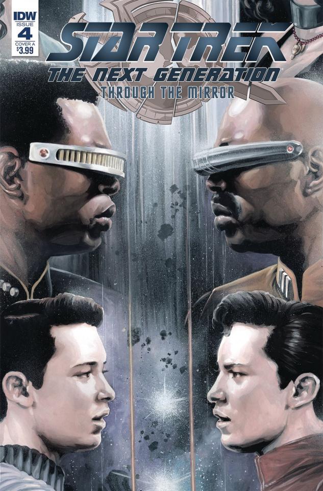 Star Trek: The Next Generation - Through the Mirror #4 (Woodward Cover)