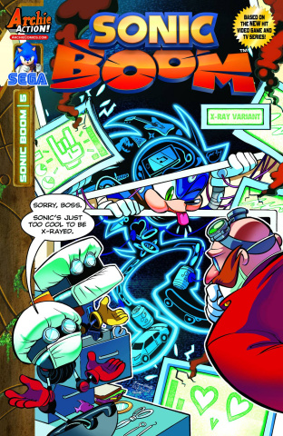 Sonic Boom #5 (X-Ray Cover)