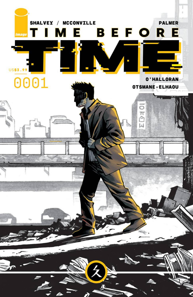 Time Before Time #1 (Shalvey Cover)