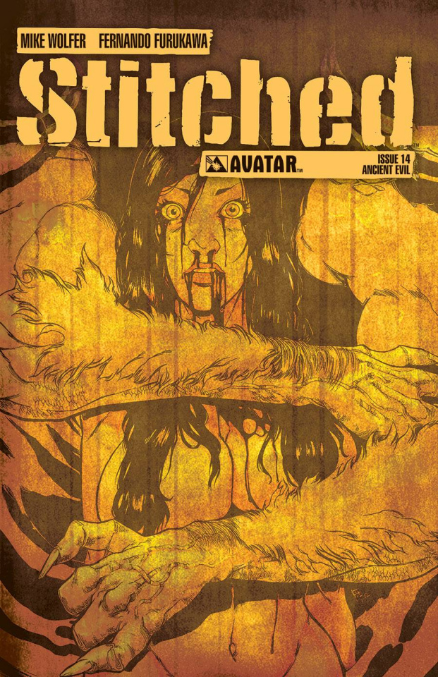 Stitched #14 (Ancient Evil Cover)