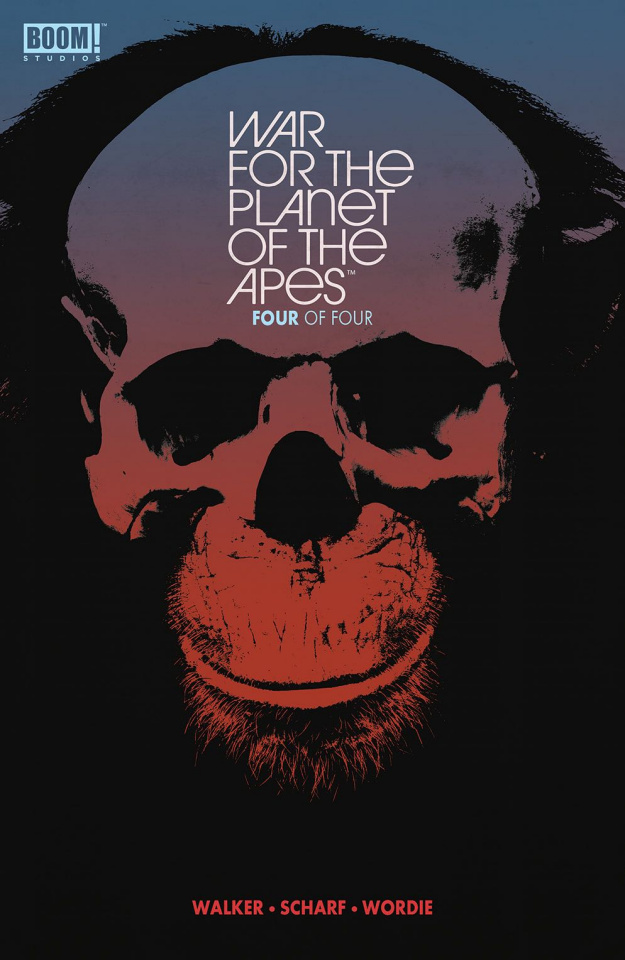 War for the Planet of the Apes #4 (Subscription Shaw Cover)