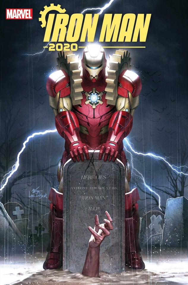 Iron Man 2020 #1 (Inhyuk Lee Cover)