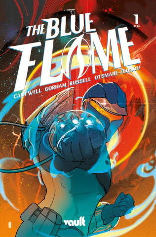 The Blue Flame #1 (75 Copy Cover)