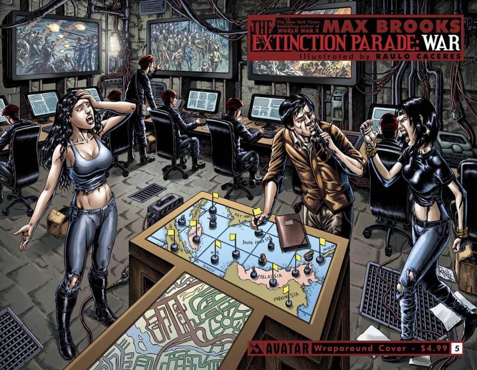 The Extinction Parade: War #5 (Wrap Cover)