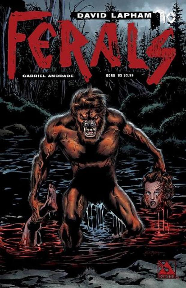 Ferals #10 (Gore Cover)