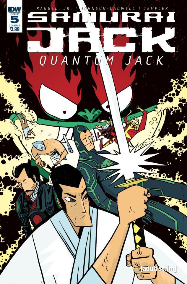 Samurai Jack: Quantum Jack #5 (Johnson Cadwell Cover)