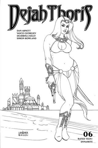 Dejah Thoris #6 (20 Copy Linsner B&W Cover)
