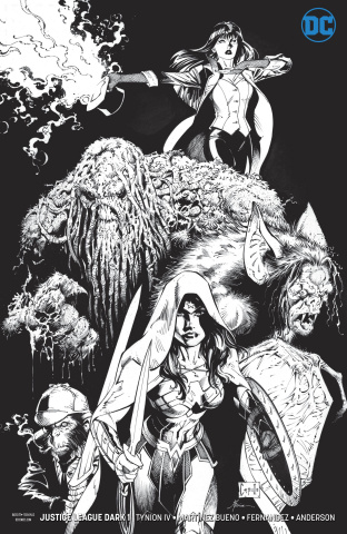 Justice League Dark #1 (Inks Only Cover)
