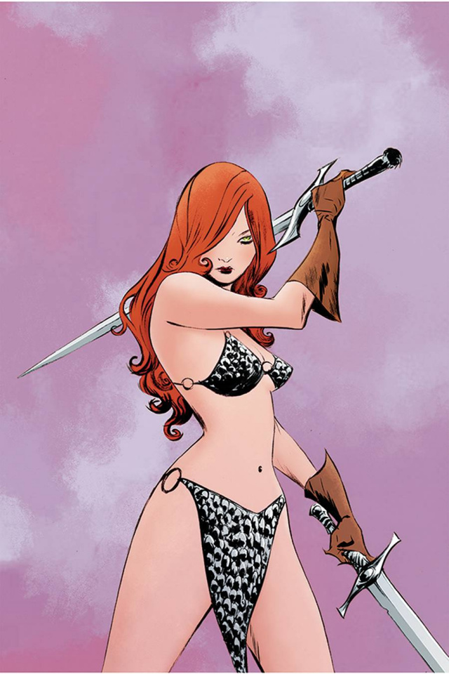 Red Sonja #23 (Lee Virgin Cover)