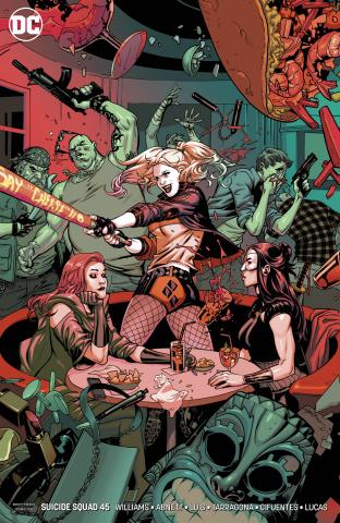 Suicide Squad #45 (Sink Atlantis Cover)