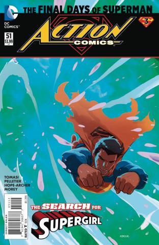 Action Comics #51 (2nd Printing)