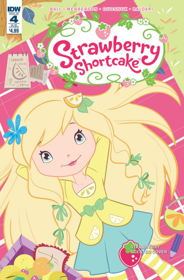 Strawberry Shortcake #4 (Scented Cover)
