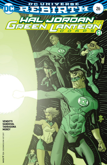 Hal Jordan and The Green Lantern Corps #26 (Variant Cover)