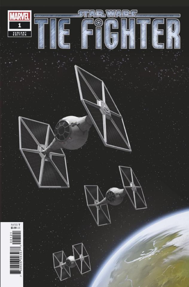 Star Wars: TIE Fighter #1 (Movie Cover)