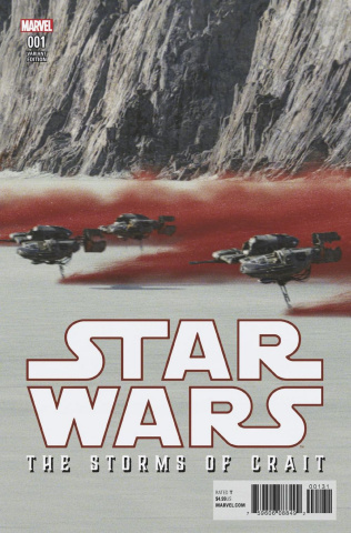 Star Wars: The Last Jedi - The Storms of Crait #1 (Movie Cover)
