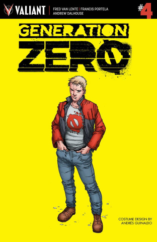 Generation Zero #4 (10 Copy Guinaldo Cover)