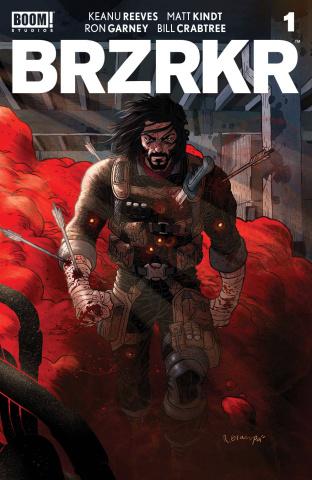BRZRKR #1 (Grampa Cover)