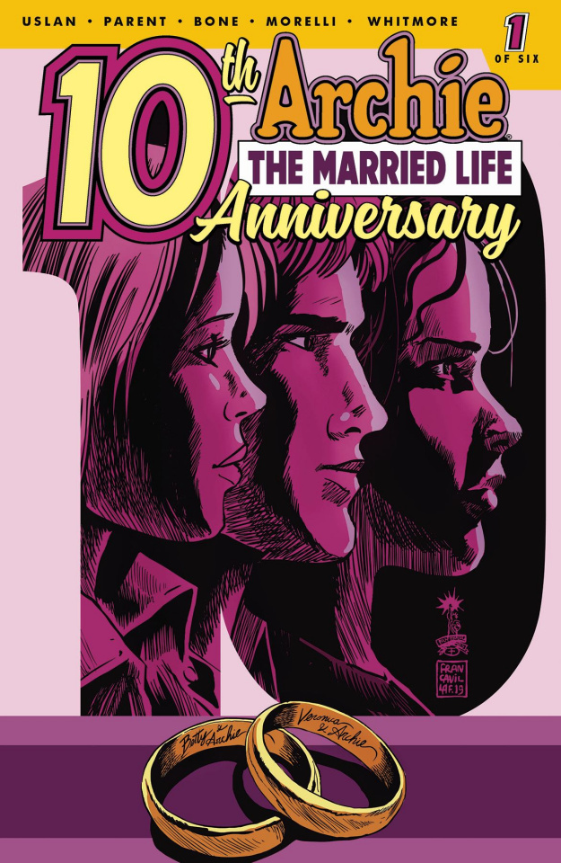 Archie: The Married Life - 10 Years Later #1 (Francavilla Cover)
