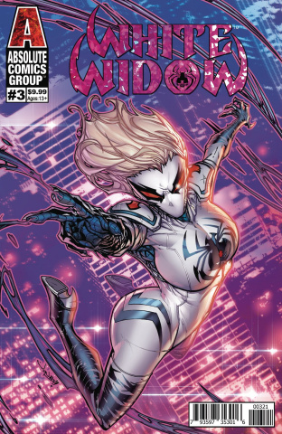 White Widow #3 (Meyers Foil Cover)