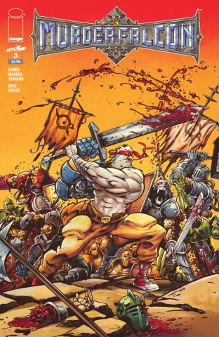 Murder Falcon #3 (Heavy Metal Cover)