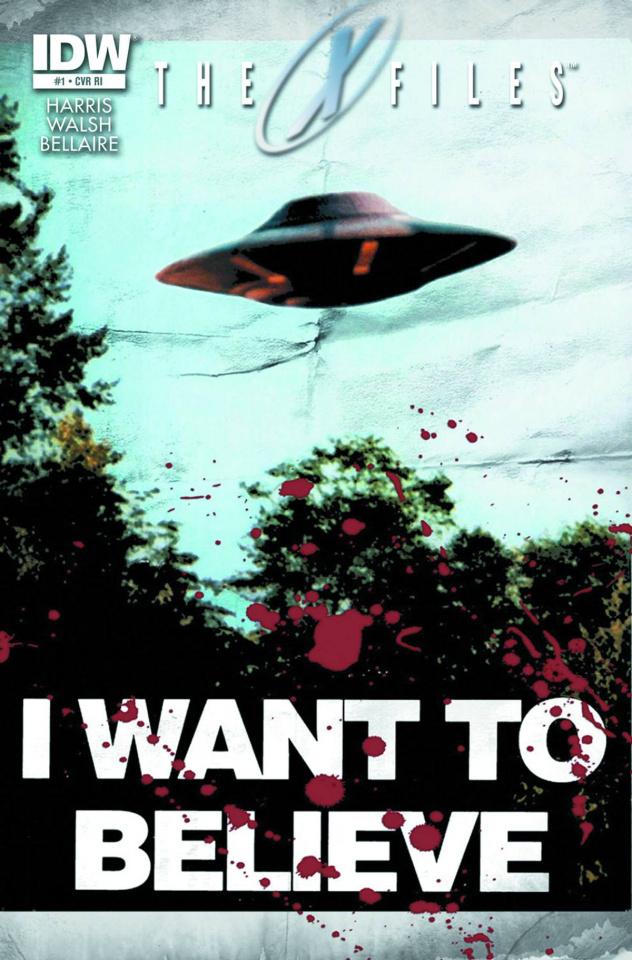 The X-Files, Season 10 #1 (25 Copy Cover)