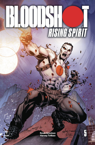 Bloodshot: Rising Spirit #5 (Stroman Cover)