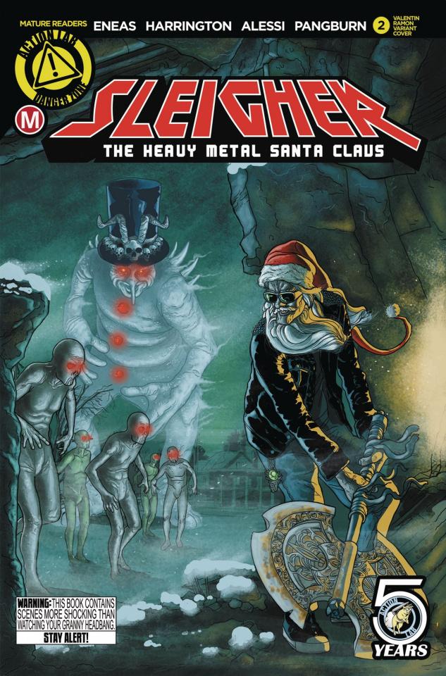 Sleigher: The Heavy Metal Santa Claus #2 (Ramon Cover)