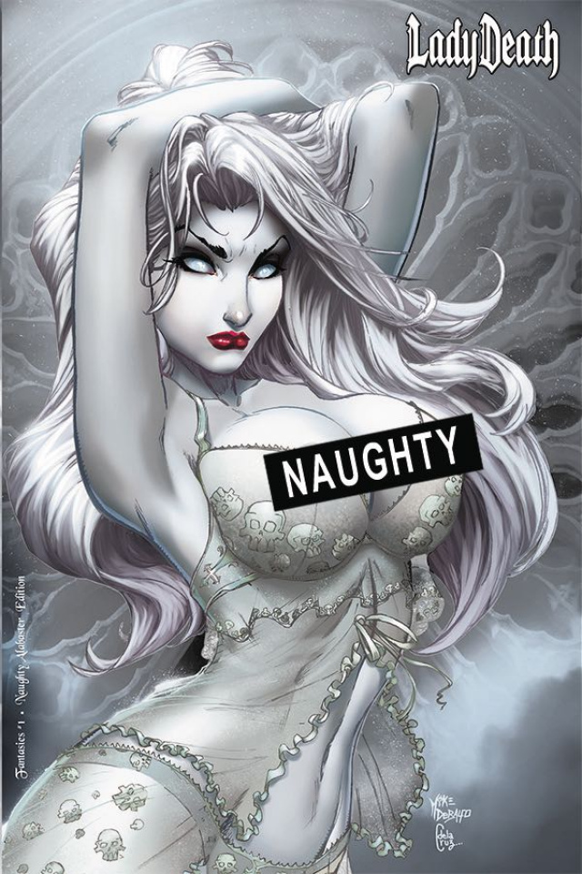 Lady Death: Fantasies (Naughty Alabaster Edition)