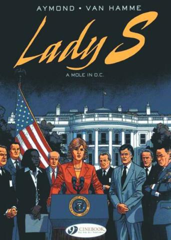 Lady S. Vol. 4: A Mole in DC