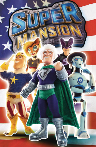 Supermansion #2 (TV Show Cover)