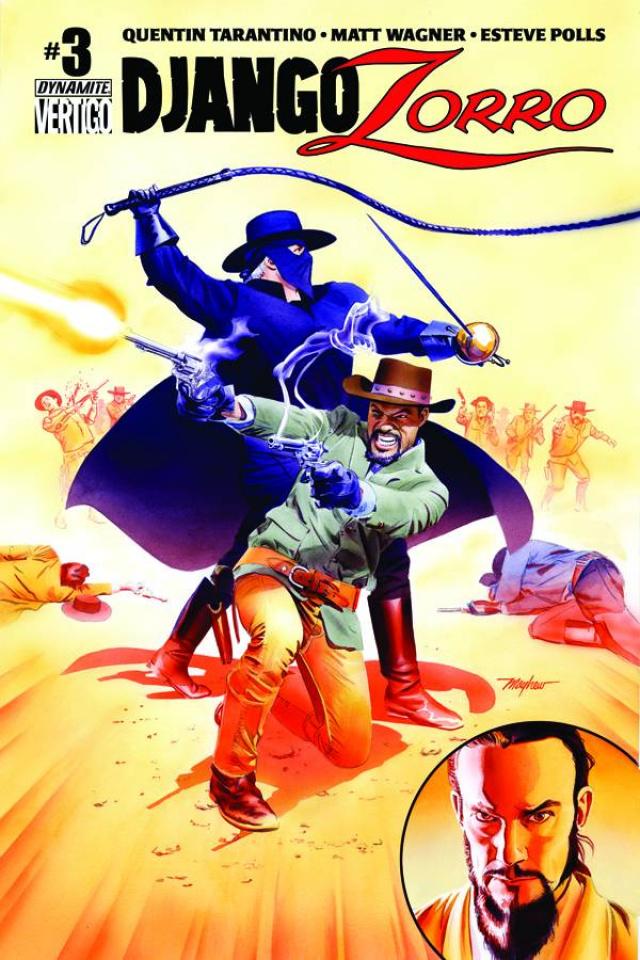 Django / Zorro #3 (Mayhew Subscription Cover)