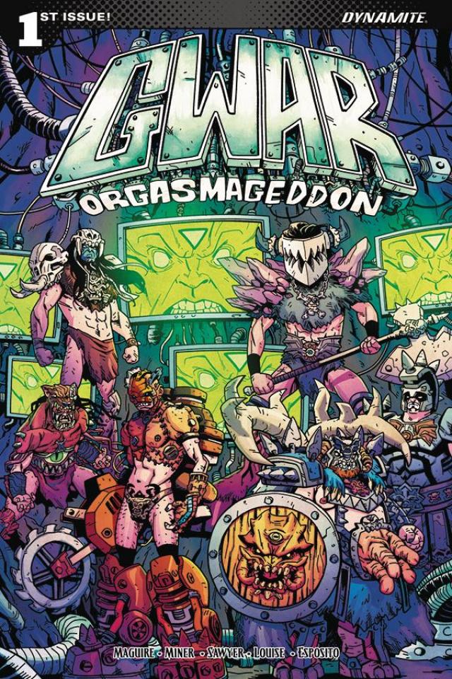 GWAR: Orgasmageddon #1 (Sawyer Cover)