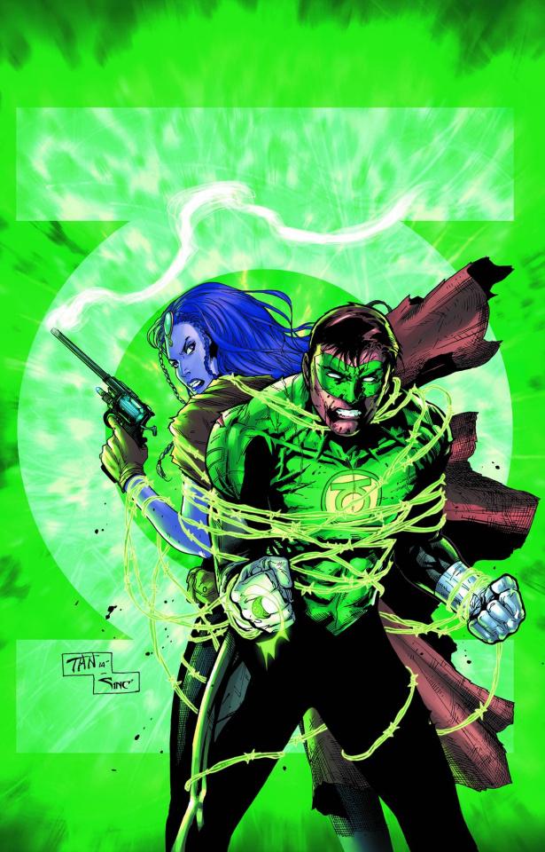 Green Lantern #32 (Uprising)