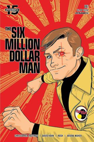 The Six Million Dollar Man #2 (Gorham Cover)