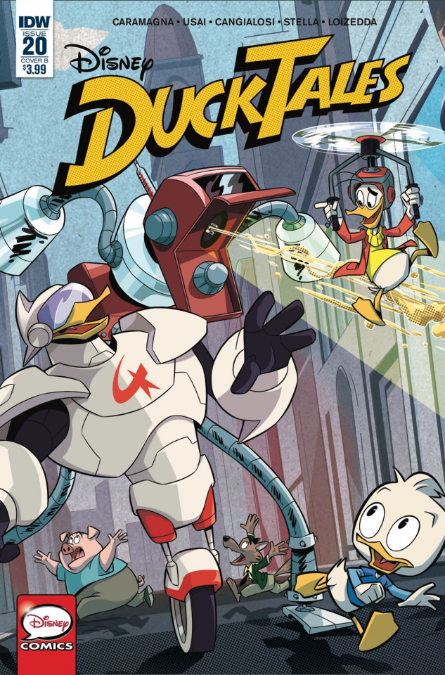 DuckTales #20 (Disney Cover)