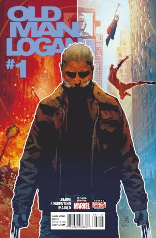 Old Man Logan #1 (Sorrentino 2nd Printing)