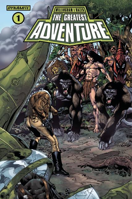 The Greatest Adventure #1 (Castro Cover)