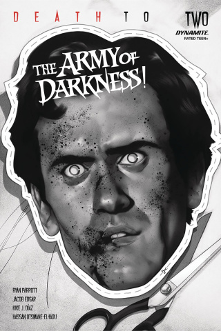 Death to the Army of Darkness #2 (50 Copy Oliver B&W Cover)
